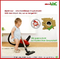 30x Staubsaugerbeutel geeignet für Miele Complete C3 Ecoline Plus Green Detailbild 2